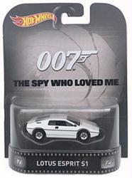 Hot Wheels Retro Entertainment: The Spy Who Loved Me Lotus Esprit SI