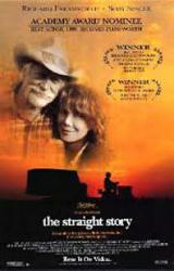 The Straight Story movie poster [Richard Farnsworth/Spacek] Lynch/VG