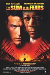 The Sum of All Fears movie poster [Ben Affleck & Morgan Freeman]