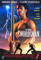 The Swordsman movie poster [Lorenzo Lamas] video poster