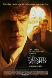 The Talented Mr Ripley movie poster [Matt Damon, Jude Law, Paltrow] NM