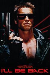 The Terminator poster: I'll Be Back (24x36) Arnold Schwarzenegger