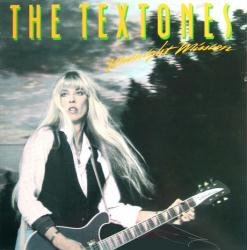 The Textones poster: Midnight Mission vintage LP/Album flat (1984)