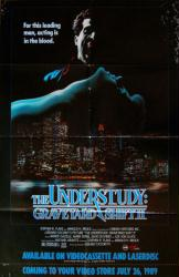 The Understudy: Graveyard Shift II movie poster (1988) 26x40 video