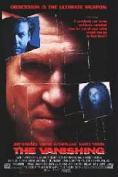 The Vanishing poster [Jeff Bridges, Kiefer Sutherland, Nancy Travis]