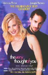 The Very Thought of You movie poster [Monica Potter, Joseph Fiennes]