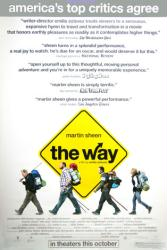 The Way movie poster [Martin Sheen] 27x40 original Reviews version