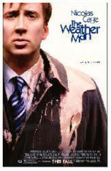 The Weather Man movie poster [Nicolas Cage] 27x40 original