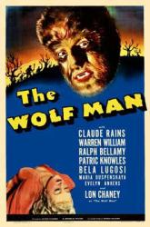 The Wolf Man movie poster [Lon Chaney Jr.] 11'' X 17''