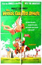 The World's Greatest Athlete movie poster (Disney) 1973 original 27x41