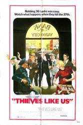 Thieves Like Us movie poster [a Robert Altman film] 27x41 original