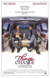Things Change movie poster [Don Ameche, Joe Mantegna] original 27x41