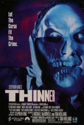 Thinner movie poster (1996) [Stephen King] 27x40
