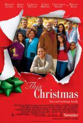 This Christmas movie poster [Delroy Lindo/Idris Elba/Loretta Devine]