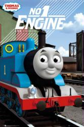 Thomas & Friends: No 1 Engine (24x36) Thomas the Tank Engine