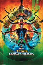 Thor: Ragnarok movie poster [Chris Hemsworth] (22x34) Marvel