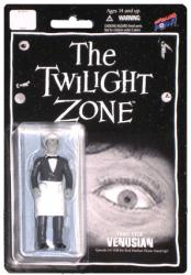 "The Twilight Zone: Three-Eyed Venusian 4"" figure (Bif Bang Pow) B&W"