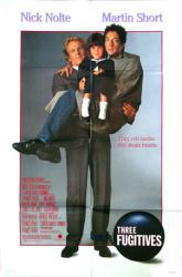 Three Fugitives movie poster [Nick Nolte & Martin Short] 1989 original