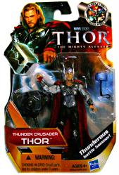 Thor: Thunder Crusader Thor action figure (Hasbro/2010)