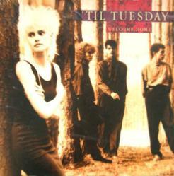 'Til Tuesday poster: Welcome Home vintage LP/Album flat