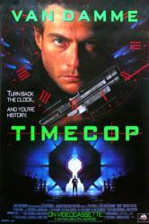 Timecop movie poster [Jean-Claude Van Damme] 27x40 video version