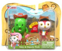 Sheriff Callie's Wild West: Toby & Deputy Peck figure set (Just Play)