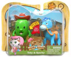 Sheriff Callie's Wild West: Toby & Sparky figure set (Just Play/2015)
