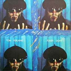 Tom Verlaine poster: Flash Light vintage LP/Album flat