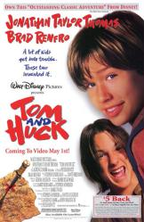 Tom and Huck movie poster [Jonathan Taylor Thomas & Brad Renfro]