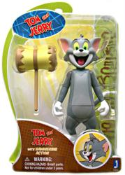 Hanna-Barbera: 6'' Tom with Hammering Action figure [Tom and Jerry]