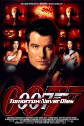 Tomorrow Never Dies movie poster [Pierce Brosnan/James Bond] 27 X 40