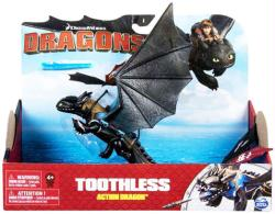 """Dragons: Toothless Action Dragon 10"""" figure (Spin Master) Dreamworks"""