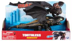 """Dragons: Toothless Dragon Blasters 14"""" figure (Spin Master) Dreamworks"""