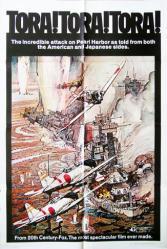 Tora! Tora! Tora! movie poster (1970) original 27x41 one-sheet