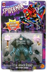 The Amazing Spider-Man: Total Armor Rhino action figure (ToyBiz/1996)