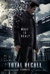 Total Recall movie poster [Colin Farrell] 2012 advance
