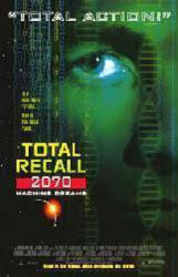 Total Recall 2070: Machine Dreams movie poster (NM) video poster