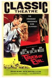 Touch of Evil movie poster [Charlton Heston/Janet Leigh/Orson Welles]