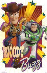 Toy Story poster: Woody and Buzz (22x34) Disney/Pixar