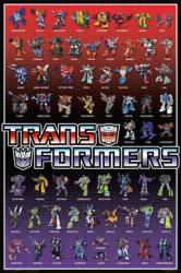 Transformers poster: Animated Character Chart (24'' X 36'') New