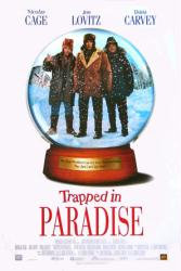 Trapped In Paradise movie poster [Nicolas Cage/Jon Lovitz/Dana Carvey]