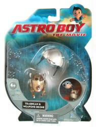 Astro Boy: Trashcan & Weapons Drone action figure set (Jazwares/2009)