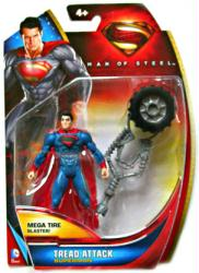Man of Steel: Tread Attack Superman action figure (Mattel/2013)