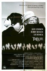 Tribute movie poster [Jack Lemmon, Robby Benson] 1980 original 27 X 41