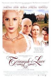Triumph of Love movie poster [Mira Sorvino & Ben Kingsley] 27 X 40