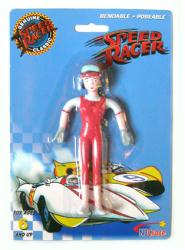 Speed Racer: Trixie bendable/poseable figure (NJ Croce/2008) New