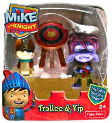 Mike the Knight: Trollee & Yip figures (Fisher Price/2012)