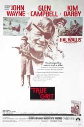 True Grit movie poster [John Wayne, Glen Campbell, Kim Darby] 27x40