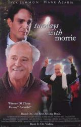 Tuesdays With Morrie movie poster [Jack Lemmon, Hank Azaria] 26x40 VG