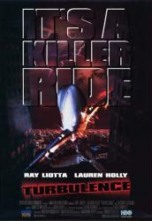 Turbulence movie poster [Ray Liotta & Lauren Holly] video version